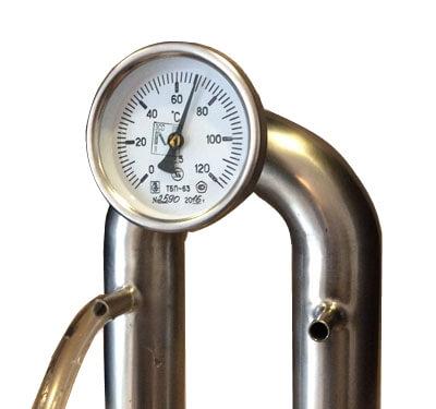 колонна с термометром